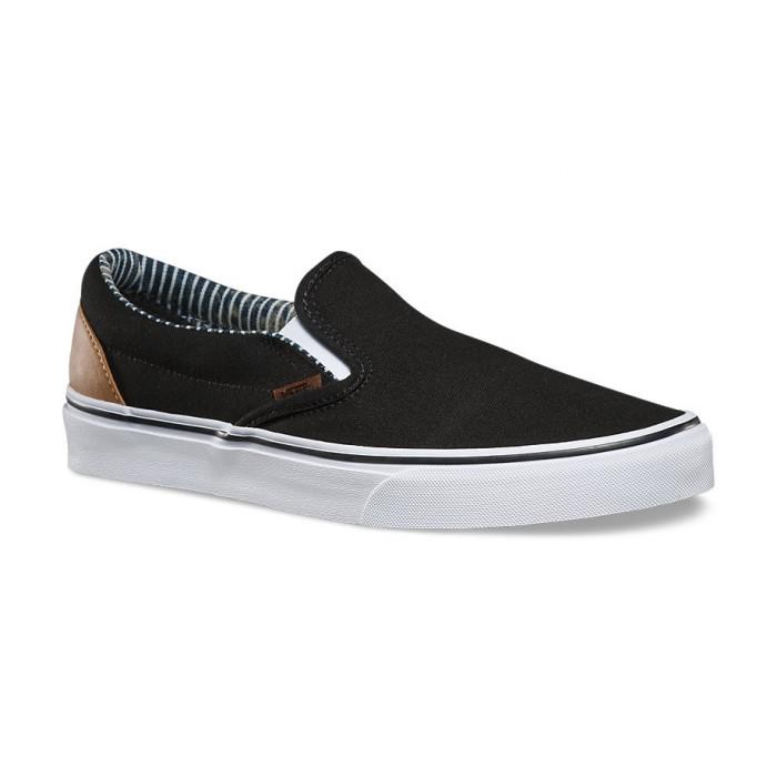 Shoes Vans Slip-On C&L Black/Stripe Denim