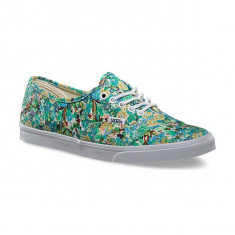 Shoes Vans Authentic Lo Pro Ditsy Floral Pool Green - Tenisi dama Vans, Marime: 36
