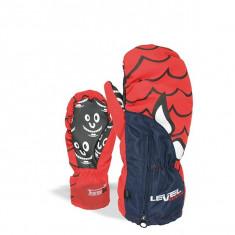 Manusi Level Lucky Mitt Blue - Echipament ski Level, Copii