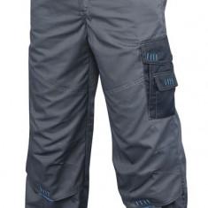PANTALONI SALOPETA LUCRU TECH - Pantaloni barbati, Marime: 50, 46, 52, 48, 54, Culoare: Gri, Tercot