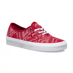 Shoes Vans Authentic Ditsy Bandana Chili Pepper - Tenisi barbati Vans, Marime: 41