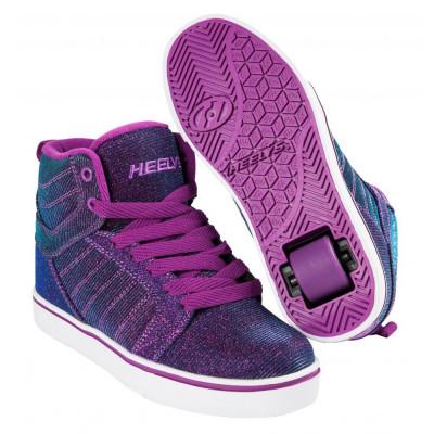 Heelys Uptown Purple/Aqua Colourshift foto