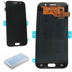 Display ecran LCD cu touch screen Samsung Galaxy A5 2017 A520F Black negru - Display LCD Sagem