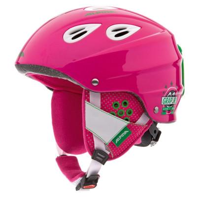 Casca Ski Alpina Grap Junior roz foto