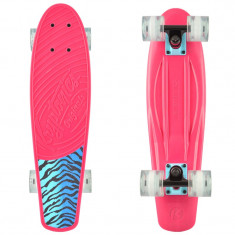 "Cruiser Kryptonics Torpedo Pink Tiger 22""/56cm - Skateboard"
