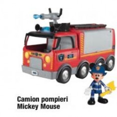 Camion pompieri Mickey Mouse