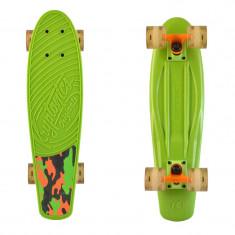 "Cruiser Kryptonics Torpedo Camo Green 22""/56cm - Skateboard"