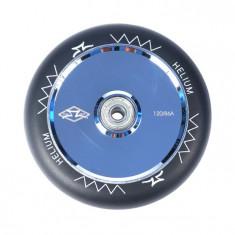 Roata Trotineta AO Helium 120mm polished silver + Abec 9