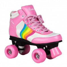 Patine cu rotile Rookie Forever Rainbow Pink Multi - Role, Marime: 38, 40, 5, 37