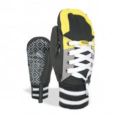 Manusi Level Sneaker JR Black Yellow - Echipament ski Level, Unisex
