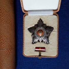 Steaua Romaniei - RSR - cls. a V a + brevet, cutie - Ordin