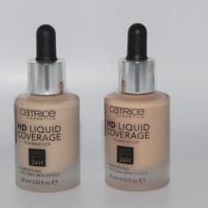 Fond de ten Catrice HD Liquid Foundation Nuanta la alegere, Lichid