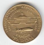 TAROM - Transporturile Aeriene Romane 1965-1990 - Medalie AVIATIE romaneasca
