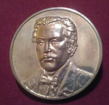 75 ani de la moartea lui EMINESCU 1889-1964 - Medalie Comemorativa - Rara