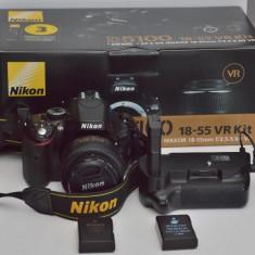 Nikon D1500 body + grip + 2 bat - Aparat foto DSLR
