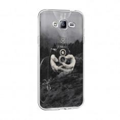 Husa Silicon, Ultra Slim 0.3MM, Double Exposure, Samsung Galaxy S5
