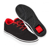 Heelys Launch Black/Black/Red, 31 - 33, 35, 38, Negru