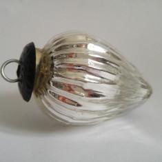 Glob de brad vechi, sticla foarte groasa,, deosebit, vintage, decor