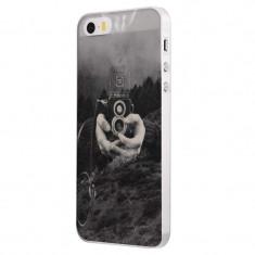 Husa Silicon, Ultra Slim 0.3MM, Double Exposure, Apple iPhone 5 / 5S / SE