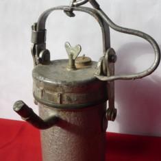 LAMPA CU CARBID VECHE - Metal/Fonta
