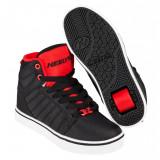 Heelys Uptown Black/Red Ballistic, 32, 34