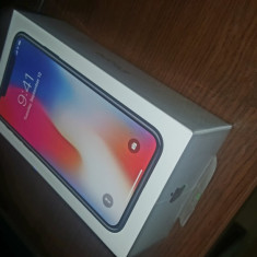 Iphone x 64gb Nou, nedeschis incă in folia originala - Telefon iPhone Apple, Argintiu