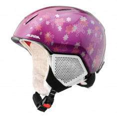 Casca Alpina Carat LX purple star - Casca ski