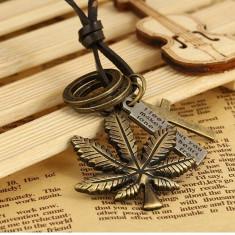 LANT lanturi PANDANTIV pandantive FRUNZA cu Marijuana IARBA cruciulita weed