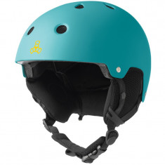 Casca Triple 8 Brainsaver Snow Audio Teal Rubber