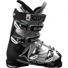 Clapari Atomic Hawx 80W Metallic/Silver Black, Marime: 37, 39, Femei