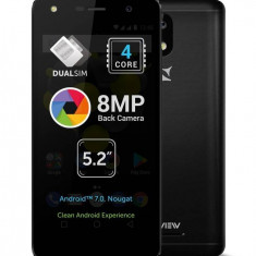 Smartphone Allview A9 Lite 8GB Dual Sim 3G Black - Telefon Allview
