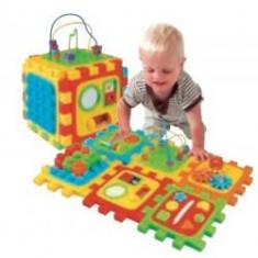 Cub bebe cu activități - Jocuri Forme si culori