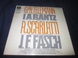 G.Ph.Teleman/J.A.Bantz/A.Scarlatti/I.F.Fasch -Concertoa 6/Suite in D-Dur...LP, VINIL, emi records