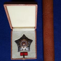 Steaua Romaniei - RSR - cls. a 3 a + brevet, la cutie, stare excelenta - Ordin