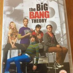 THE BIG BANG THEORY - COMPLETE THIRD SEASON - DVD ORIGINAL - Film serial warner bros. pictures, Comedie, Engleza