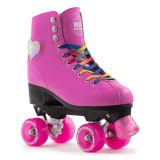 Patine cu rotile Rio Roller Figure Lights Pink