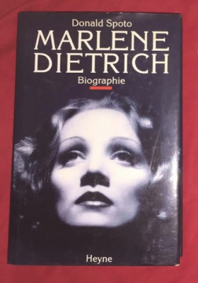 Donald Spoto MARLENE DIETRICH - biographie (in germana) foto
