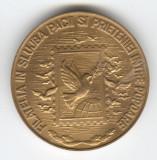 Medalie  Expozitia ziua Marcii Postale Romanesti - PACE 1986