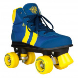 Patine cu rotile Rookie Retro V2.1 Blue/Yellow, 40,5
