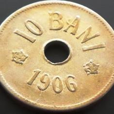 Moneda istorica  10 BANI - ROMANIA, anul 1906  *cod 5003