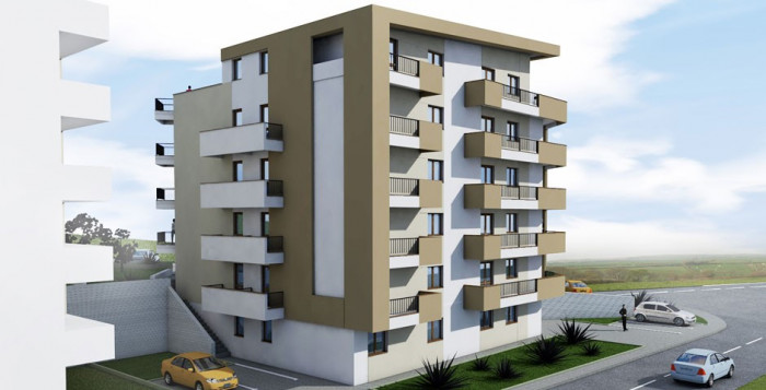 Apartament 1 camera - 34mp, Bucium,bloc nou