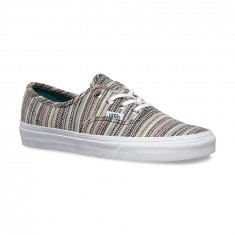 Shoes Vans Authentic Textile Stripes balsam/true white - Tenisi barbati Vans, Marime: 41