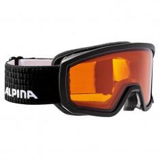 Ochelari Alpina Scarabeo JR DH black/black dots