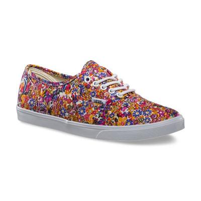 Shoes Vans Authentic Lo Pro Ditsy Floral Purple foto