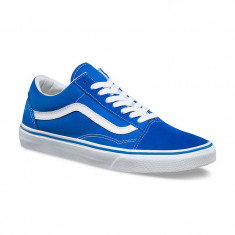 Shoes Vans Old Skool Suede/Canvas imperial blue/true white - Tenisi barbati Vans, Marime: 45