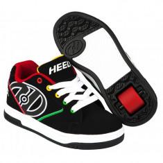 Heelys Propel 2.0 Black/Reggae, 32 - 35, 38, 39, Negru