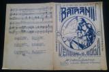 Batranii/ melodie populara, Al. Dobrescu-Dumitresti/ partitura