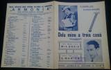 Dela mine a treia casa/ cantec in stil popular, Mia Braia/ partitura