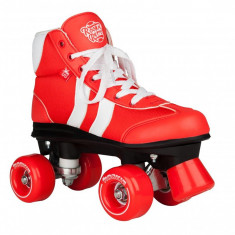 Patine cu rotile Rookie Retro V2.1 Red/White