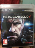 Metal Gear Solid V Ground Zeroes PS3 Play Station